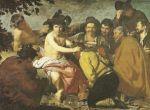 Peasants honoring god Dionysus