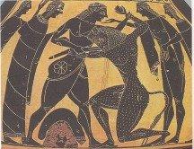 The capturing of the Minotaur