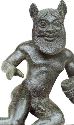 Bronze Seilenus