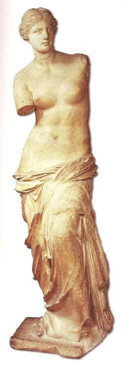 Aphrodite greek goddess of love