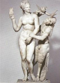 Aphrodite and Pan