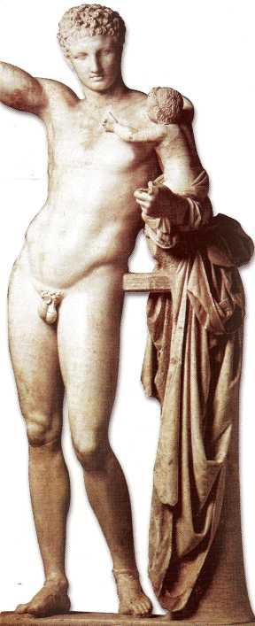 Hermes, the messenger of Olympus