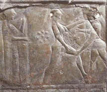 Theseus abducts amazon Antiope