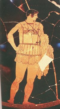 Achilles, the greatest Greek warrior