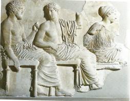 Apollo, Artemis and Poseidon