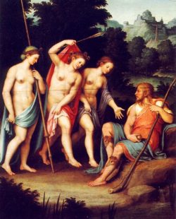 The judgement of Paris