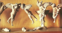 Statues of Eros, God of Love