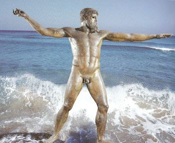Poseidon, greek god of the sea