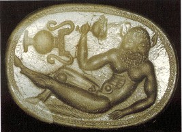 Depiction of a Satyr