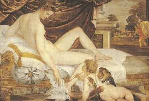 Aphrodite,Cupid and Ares