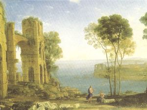 Landscape with Apollo and Sivilla