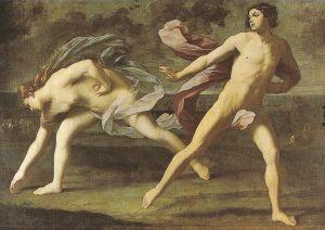 Atalante and Ippomenes