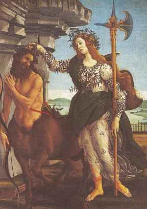 Athena and a Centaur