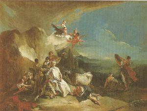 The capture of Europe by Zeus