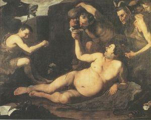 Drunk Seilenus