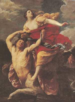 The capture of Deianera by centaur Nessus