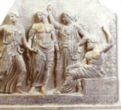 Apollo and his sister Artemis
