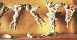 Statues of Eros, God of Love