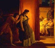 The murder of Agamemnon