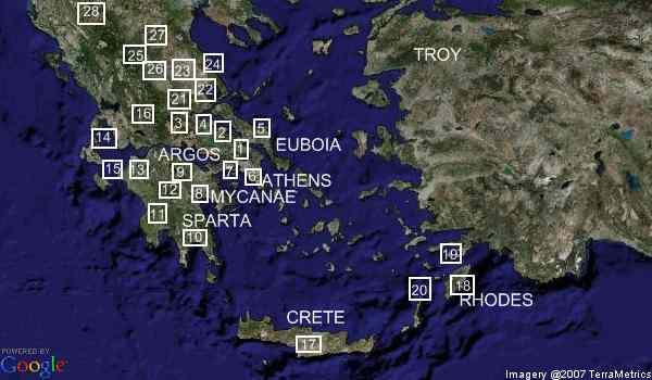 Trojan War Greek allies