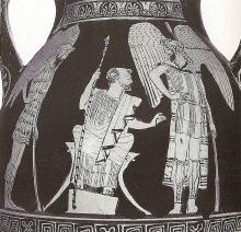 The argonauts help blind Phineus